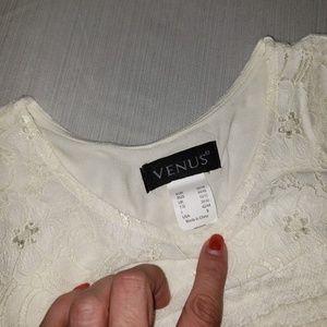 VENUS Dresses - VENUS Cream Lace Dress NWOT